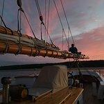 Quiet evening at anchor