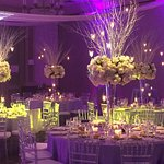 Elegant Grand Ballroom with on site audio/video department