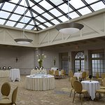 Sky-lit Solarium for receptions