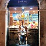 Dubrovnik old city candy shop