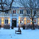 Das Gasthaus im Winter