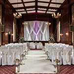 Tylney Suite dressed for ceremonies