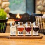 BC wine flights