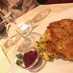 The veal Schnitzel!!