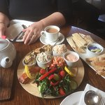 Seafood Plater with Tea