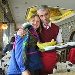 Hakki, the best waiter ever!!!