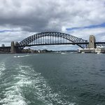 Harbor Bridge as seen from Cruise Boat