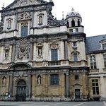 Voorzijde Carolus Borremeus kerk - Antwerpen