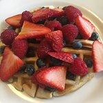 Berry Good Waffle