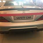 Safety car previously used at F1 races
