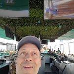 Selfie at the Mint Jungle bar.