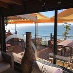 Vista desde un salón privado al mar