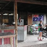 Bar & Kitchen at Spring Gully Stays Campground