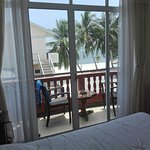 the room with nice view on the beach