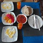 a nice maldivian breakfast