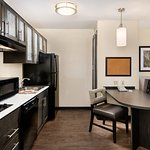 ADA Fully Equipped Kitchen, Includes Ice Maker, Dishes,  Pots, Pans and Utensils