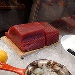 Fresh Tuna at Butchery
