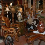 A large variety of unusual furniture home decor, jewelry and MORE