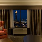 Suite Living Room, Downtown Views