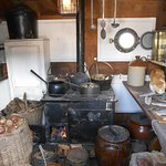 Kitchen of the ship.