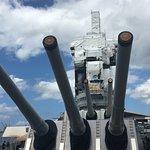 Photo of Battleship Missouri Memorial