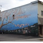 Mural on Shiloh Street Building, Mount Washington