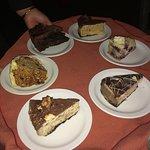 Dessert platter oferring