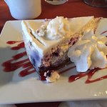 My blueberry cheese cake