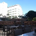 Pool side cafe/restaurant