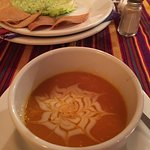 Pumpkin Soup and Guac - Highlights of Our Meal