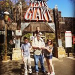 we all enjoyed the Texas Giant! Even the 6 yr old!