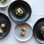 A selection of dishes from our tasting menu