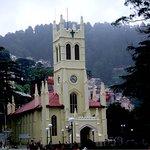 The famed landmark Shimla church