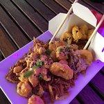Spicy shrimp and calamari