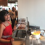 Waffle & Icecream station