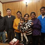 Happy Guest Mr Debu Paul and family.
