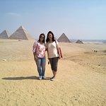 Giza Pyramids day tour with Egypt sunset tours