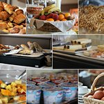 Petit déjeuner - breakfast - Hotel Bon Rivage Restaurant the GARDEN on the lake