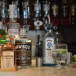 Enjoy a craft gin from our selection