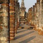 des colonnes...