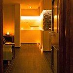 Zugang zum Wellnessbereich Hotel Orbtal
