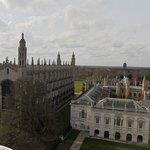 View of King's college chapel and the senate house