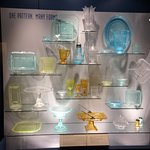 Display of Glass Objects