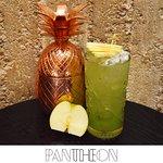 Ginger Cider Cocktail, Με ρούμι Havana Club 5*, σιρόπι τζίντζερ, πουρέ πράσινου μήλου, χυμό λεμό