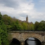 Glasgow uni from Dumbarton road