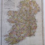 REP271 Reproduction of a map showing clans of Ireland