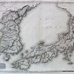 ASI315 Map of Japan and Korea from 1809