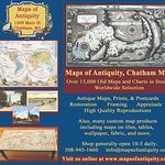 We have a worldwide selection of antique maps, prints, nautical charts, and more!