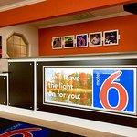 Motel 6 Hillsville Registration Desk