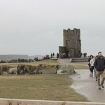 The tower at the Cliffs of Moher